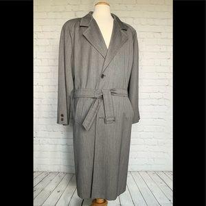 San Remo Lane Astoria Overcoat Made In Italy